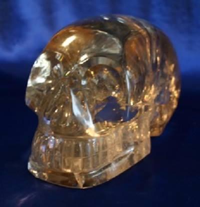 Hope the Citrine Skull
